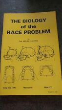 THE BIOLOGY OF THE RACE PROBLEM professor Wesley C. George