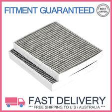 2Pcs Car Cabin Air Filters for BMW 530i 650i Rolls-Royce 64119163329 CU2533-2