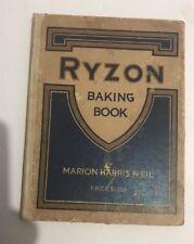 Ryzon baking book 1916
