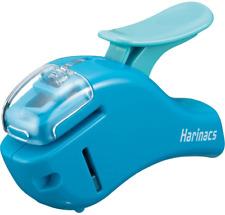 Kokuyo Stapleless Stapler Harinacs Compact Alpha Blue Sln Msh305b