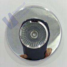 6 x MR16 LOW VOLTAGE 12V BATHROOM SHOWER RECESSED DOWNLIGHT IP65 POLISHED CHROME
