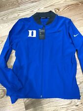 Duke Blue Devils Nike Basketball Men's Dri-Fit Jacket Large Blue  $140