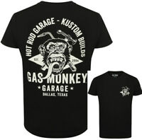 Official Gas Monkey Garage Mens Essentials Torch & Hammer T-Shirt GMG