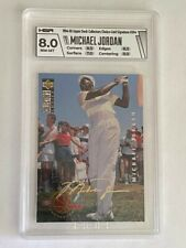 1994 Collectors Choice Gold Signature #204 Michael Jordan (GOLF) HGA 8.0