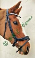 Abbie Edge bridle by M L Equine, Beautiful soft leather sparkly comfort Bridle.