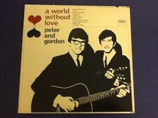 PETER AND GORDON~a world without love CAPITOL 1964 all ORIGINAL~Mono T-2115 ~Vg+