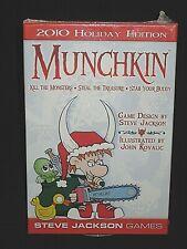 NEW 2010 HOLIDAY Edition MUNCHKIN Christmas SEALED