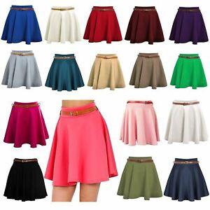 Womens Shorts Tennis Skirt Women's Skirts For Women UK Mini Skirt Skater Skirt