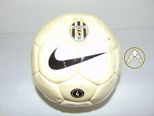 Vintage NIKE Pallone Calcio Soccer Ball Old Stock 90 China Juventus Bianco