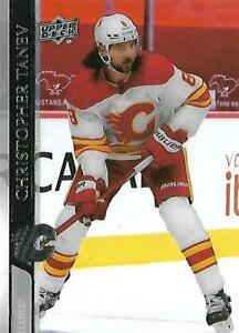 UD Extended 20/21 Clearcut #520 Christopher Tanev Calgary Flames