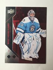2011-12 Black Diamond Marc-Andre Fleury Ruby(#26/100)