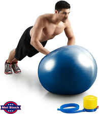 Yoga Ball Home Exercise Gym Fitness  Pilates Anti-Burst With Pump 65cm