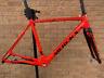 Eddy Merckx Eeklo 70 Cyclocross Bike Carbon Frame & Fork Frameset Red PMC
