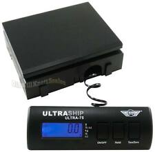 My Weigh UltraShip 75# Digital Scale _noAC noSS_ Postal Shipping Postage Bench