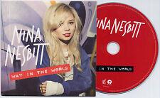 NINA NESBITT Way In The World 2013 UK 4-trk promo test CD card sleeve