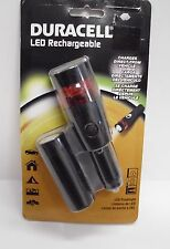 Duracell 60-088 12-Volt Rechargeable LED Flashlight and Flasher