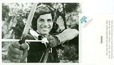 DICK GAUTIER AS ROBIN HOOD BOW & ARROW WHEN THINGS WERE ROTTEN 1975 ABC TV PHOTO
