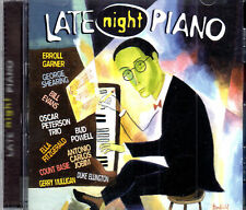 Late Night Piano Count Basie A C Jobim  Duke Elington  And More NEW SEALED CD