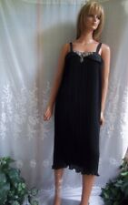 Vintage Dress Emerald Street California Fortuny Pleats Size 8 Gown Pleated Long