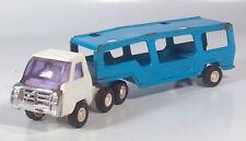 "Vintage Buddy L Car Carrier Transporter Semi 10.5"" Steel Scale Model Japan"