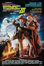 BACK TO THE FUTURE III (1990) ORIGINAL MOVIE POSTER - ROLLED 2-SIDED -  DREW ART