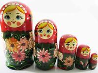 """Big Matryoshka Wooden Nesting Dolls /""""Ozzy Osbourne/"""" set 5 pcs hand painted #22"""