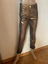 Stretch Jeans von Brax Model Shakira rose gold metallic Leder Optik  38 40