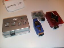 Game Boy Advance Radio Receiver by Intec and varius adapters Gameboy SP System !
