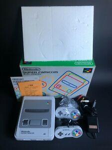 Super Famicom - Super Nintendo - JAP - Box / Notice - Serial Matching - #1