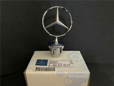 Mercedes Bonnet Raised Star Emblem Badge Chrome C E S CLK Class