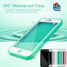Waterproof Dirt Proof Shockproof Phone Case Cover Protector for iPhone 5 6 7 +