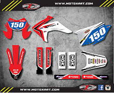 Honda CRF 150 F 2015 - 2017 Custom Graphic kit REBOUND style decals / stickers