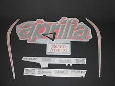 Incompleta Original Aprilia Rs 125 1999 Azul/rojo Carenado Decal Set ap8157135