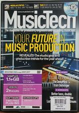 Music Tech UK March 2017 Your Future In Music Production Record FREE SHIPPING sb