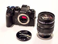 Olympus OM-D E-M1 Mark II Systemkamera mit M.Zuiko Digital ED 12-40 mm F2.8 Objektiv Kit (2196949)