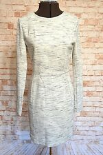 A815FRENCH CONNECTION GREY MARLE DRESS SIZE 12 NWT