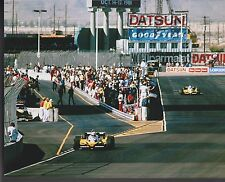 Alain Prost René Arnoux  US GRAND PRIX 1981 Renault 8 X 10 PHOTO 3