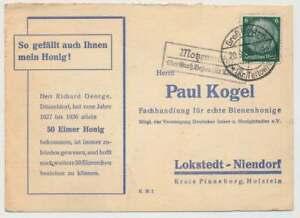 Landpoststempel MOTZENMÜHLE über GROß-BESTEN (Kr. Teltow) 1936 (33174)