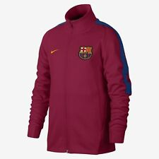 NIKE FC BARCELONA AUTHENTIC FRANCHISE YOUTH JACKET 2017 18 Noble Red. 65b4b8031
