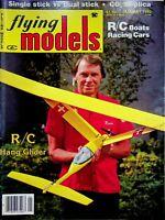 Vintage Flying Models Magazine January 1982 R/C Hang Glider m327
