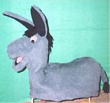 Full Bodied Donkey Ventriloquist Puppet-Teachers, ministry, Programs
