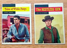 1958 Topps TV Western Cards #54, #58, or #60 (NrMt) One Card - Your Choice