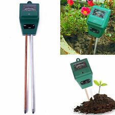 3 in 1 PH Tester Soil Water Moisture Light Test Meter for Garden Plant Flower QW