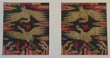 Rare Korean 18 ~ 19th Century Joseon Dynasty Royal Rank Embroidery Set