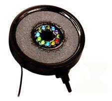 More details for led bubble ring air stone light for fish tank aquarium decoration air stone