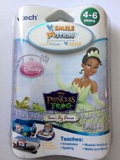 Vtech V.smile Motion Active Learning System Princess and The Frog Software
