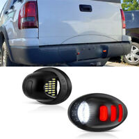 2x Car Rear License Plate Lights Lamps For Ford F-150 F-250 F-350 Ranger Pickup