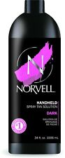 Norvell Dark Premium Spray Tan Solution, 33.8 oz Liter