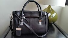 NWT - Nine West City Chic Collect Black Leather Shoulder bag