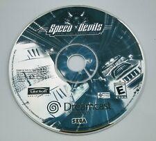 SEGA DREAMCAST SPEED DEVILS ONLINE RACING GAME DISC ONLY